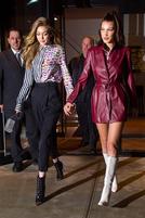 Gigi Hadid和Bella Hadid的时装档案