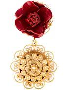 DOLCE & GABBANA 'Sacred Heart' clip-on earrings