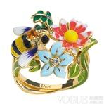 春暖花开 20款花朵元素珠宝嗅出春的气息