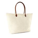 HM白色编织包