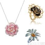 花开有声 春季花朵元素珠宝点缀美丽心情
