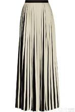 2014春夏潮流:风琴褶中长裙