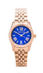 Michael Kors Petite Lexington Watch in Blue