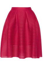 Jam 褶裥镂空针织半身裙