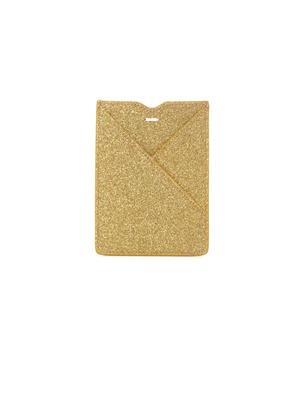 Gold glitter cardholder