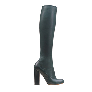 Chloé蔻依2013年秋季系列藏青色靴子