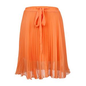 Calvin Klein Jeans 2013年橘色百褶裙