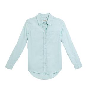 GUESS盖尔斯薄荷绿色衬衫