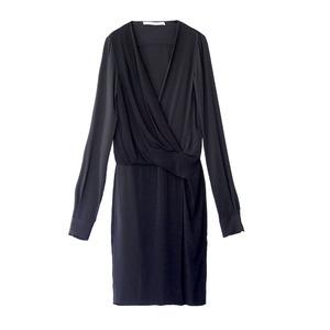 Diane von Furstenberg黑色裹身裙
