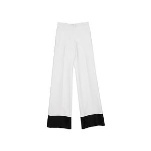 赛琳(Céline)2013春夏黑白双色高腰阔腿裤