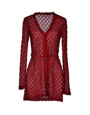红色 MISSONI 针织开衫