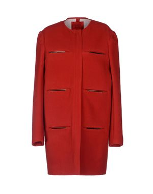 红色 LANVIN 大衣
