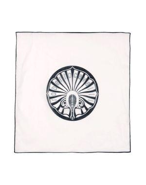 白色 ROBERTO CAVALLI 方巾