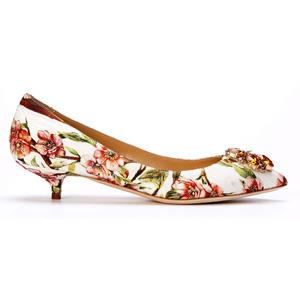 Dolce&Gabbana杜嘉班纳2014春夏系列印花凉鞋