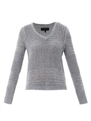 Janice  textured knit sweater