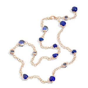 POMELLATO宝曼兰朵2014珠宝系列深蓝色项链