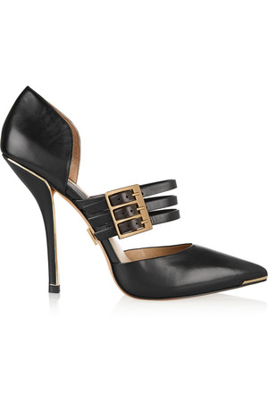 Annalee 皮革高跟鞋