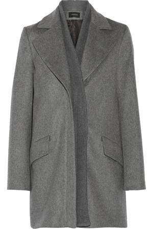羊毛混纺外套