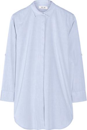 The Oversized 纯棉府绸衬衫
