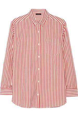 Eddie 条纹纯棉衬衫