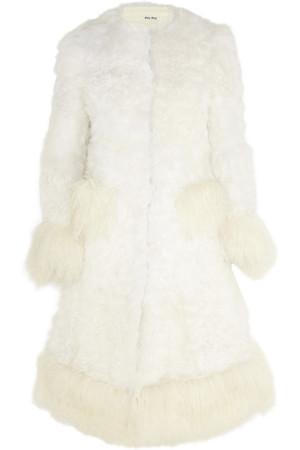 羊毛皮外套