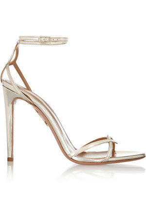 + Oliva Palermo 镜面皮革凉鞋