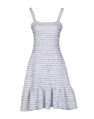 白色 DIOR 短款连衣裙