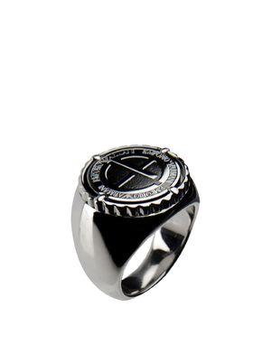 银色 EMPORIO ARMANI 戒指