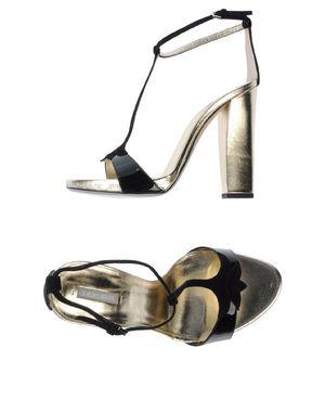 黑色 GIORGIO ARMANI 凉鞋