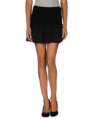 黑色 D.A. DANIELE ALESSANDRINI 超短裙