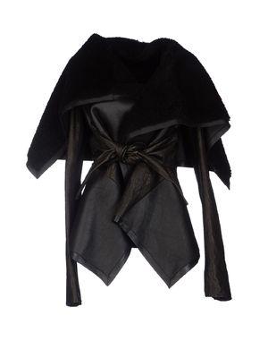 黑色 RICK OWENS 夹克