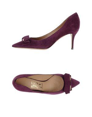 紫色 SALVATORE FERRAGAMO 高跟鞋