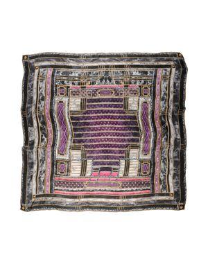 紫色 BALMAIN 方巾