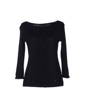 黑色 ROBERTO CAVALLI 短袖针织衫