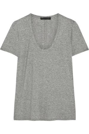 Bobbi 弹力针织 T 恤