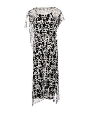 白色 VIONNET 中长款连衣裙