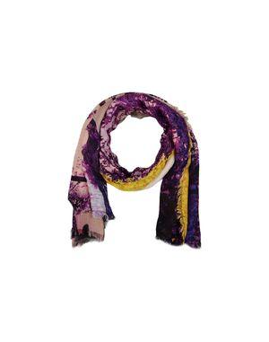 紫色 MARY KATRANTZOU 长方披肩