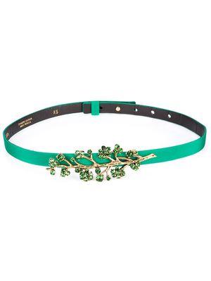 OSCAR DE LA RENTA branch motif belt