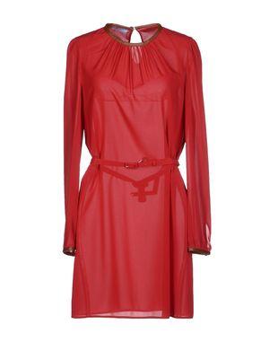 红色 PRADA 短款连衣裙