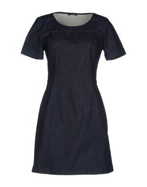 蓝色 PRADA 短款连衣裙