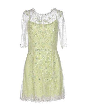 浅绿色 JENNY PACKHAM 短款连衣裙
