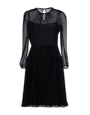 黑色 PRADA 短款连衣裙
