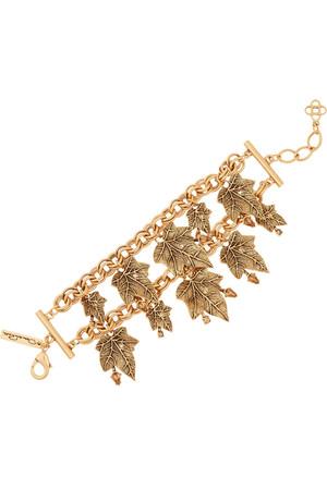 Ivy 镀金水晶手链