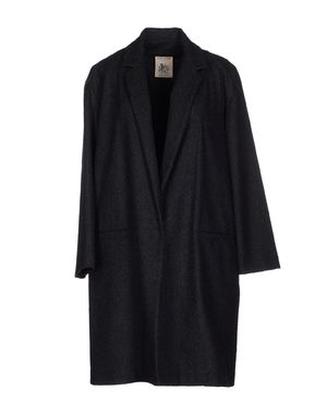 黑色 SEMI-COUTURE 大衣