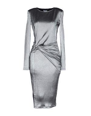 银色 BRIGITTE BARDOT 及膝连衣裙
