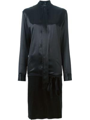 HAIDER ACKERMANN silk shirt dress