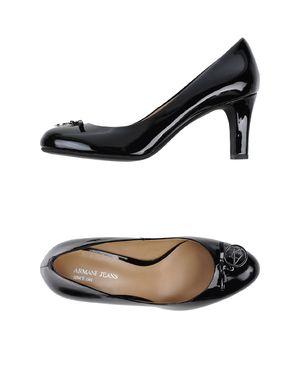 黑色 ARMANI JEANS 高跟鞋