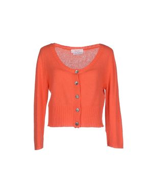 珊瑚红 JUCCA 短套衫