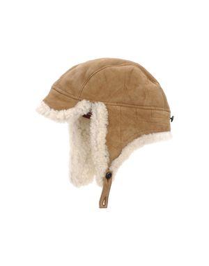 驼色 WOOLRICH 帽子