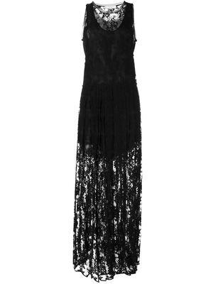 CHLOE lace sleeveless dress